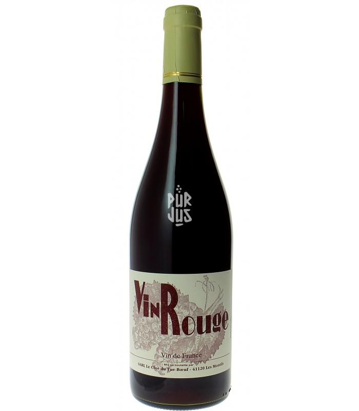Vin Rouge - 2015 - Clos Tue-Boeuf - Thierry Puzelat
