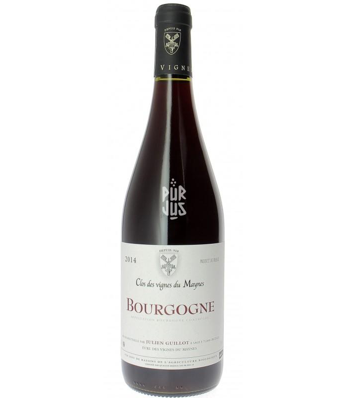 Bourgogne - 2014 - Clos des Vignes du Maynes - Julien Guillot