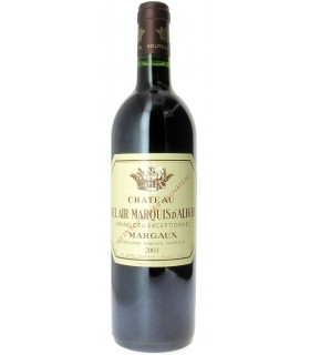 Margaux - 2001 - Château Bel Air Marquis d'Aligre - Jean-Pierre Boyer
