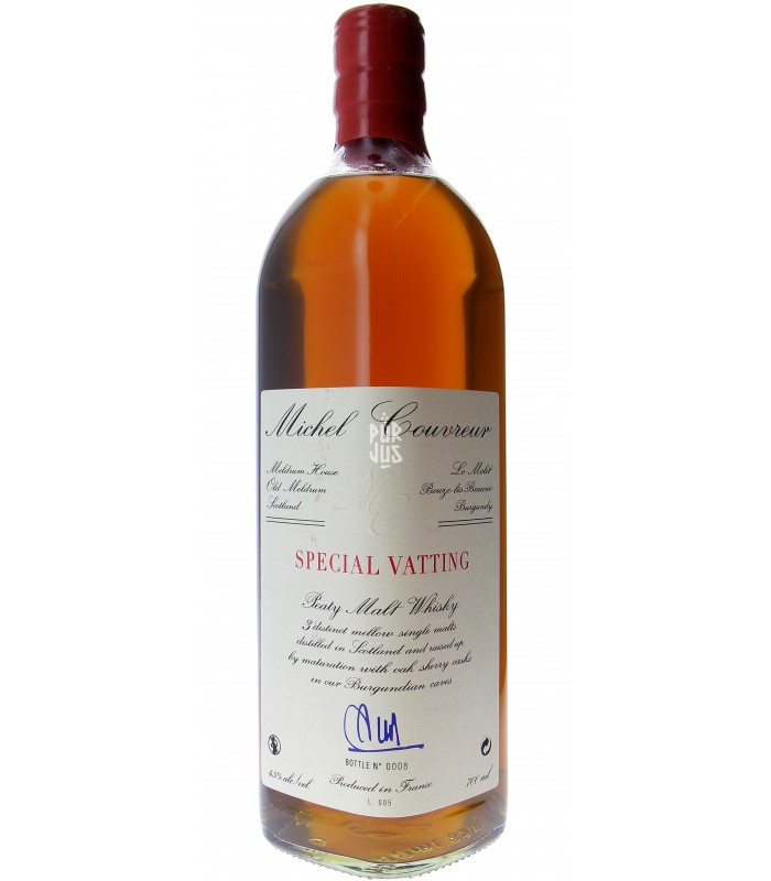 special vatting malt whisky 45% - Michel Couvreur