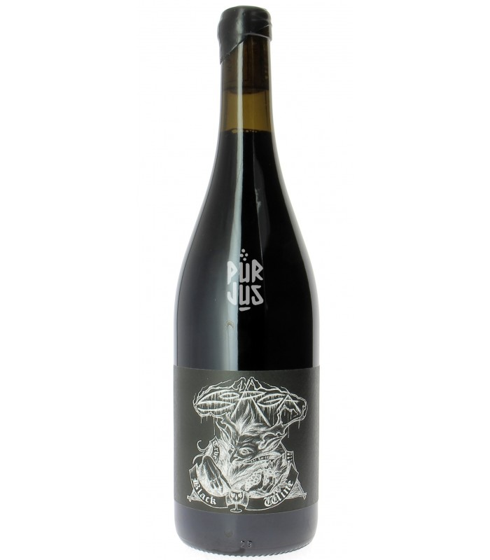 True Black Wine - 2014 - La Sorga - Antony Tortul