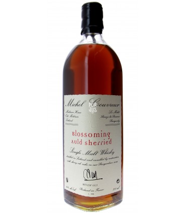 blossoming auld sherried single malt whisky 45% - Michel Couvreur