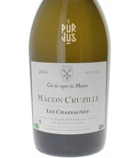 """Mâcon Cruzille """"Cuvée Les Chassagnes"""" - 2015 - Clos des Vignes du Maynes - Julien Guillot - Magnum"""