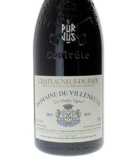 Châteauneuf du Pape Les Vieilles Vignes - 2013 - Domaine de Villeneuve - Magnum