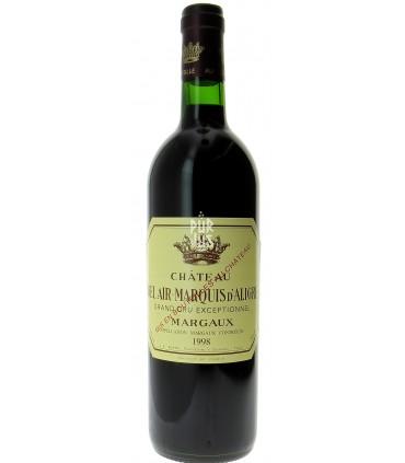 Margaux - 1998 - Château Bel Air Marquis d'Aligre - Jean-Pierre Boyer