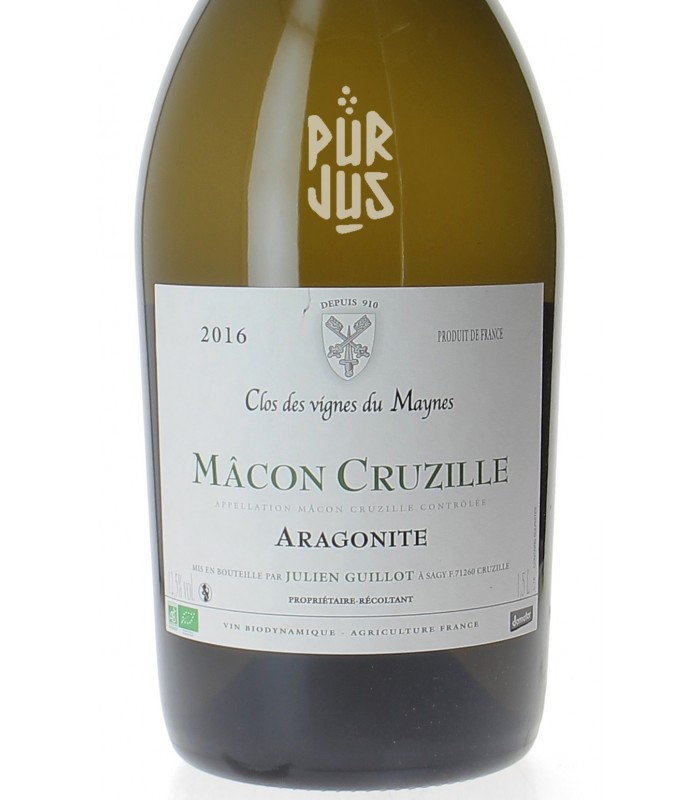 Mâcon Cruzille Aragonite - 2016 - Julien Guillot - Magnum