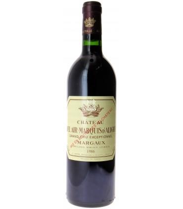 Margaux - 1986 - Château Bel Air Marquis d'Aligre - Jean-Pierre Boyer