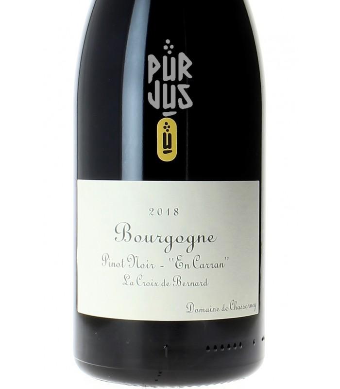 Bourgogne En Carran La Croix de Bernard Qvevris - 2018 - Frédéric Cossard - Magnum