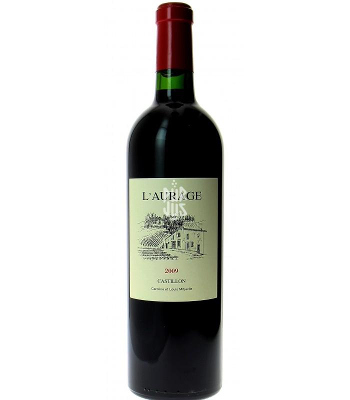 Castillon - Côtes de Bordeaux - Domaine de l'Aurage - Louis Mitjaville - 2009