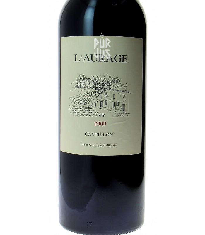 Castillon - Côtes de Bordeaux - Domaine de l'Aurage - Louis Mitjaville - 2009 - MAGNUM