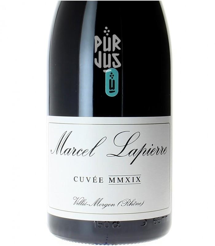 Morgon Cuvée Marcel Lapierre - 2019 - Mathieu et Camille Lapierre - Magnum