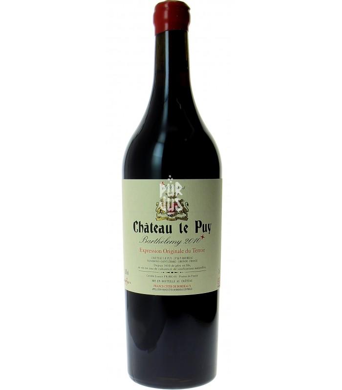 Cuvée Barthélemy -  2010 - Château Le Puy - Jean-Pierre Amoreau