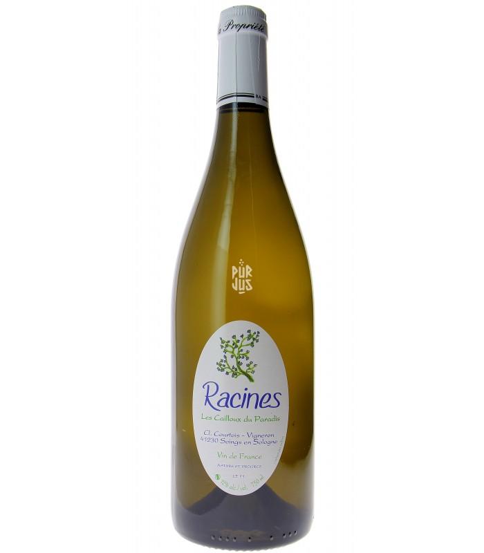 Racines blanc - 2012 - Les Cailloux du Paradis - Claude Courtois