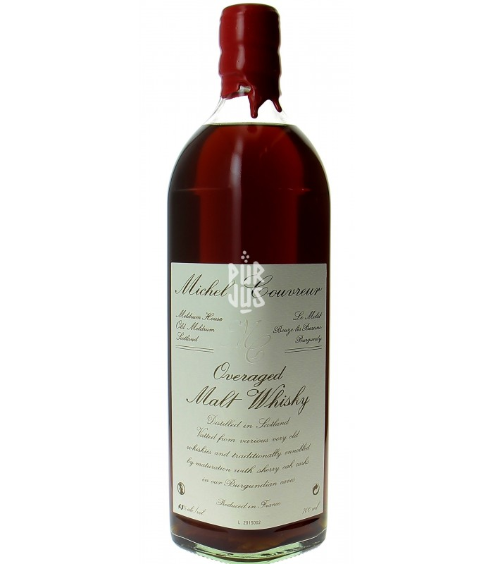 Overaged malt whisky 53% - Michel Couvreur