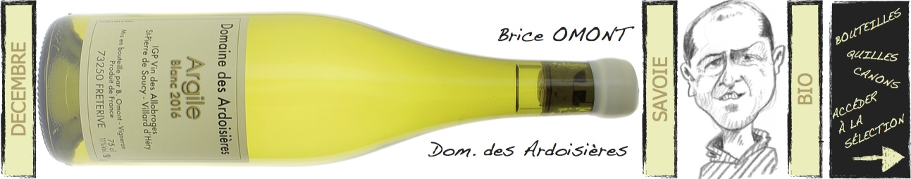 brice Omont - Domaine des Ardoisières