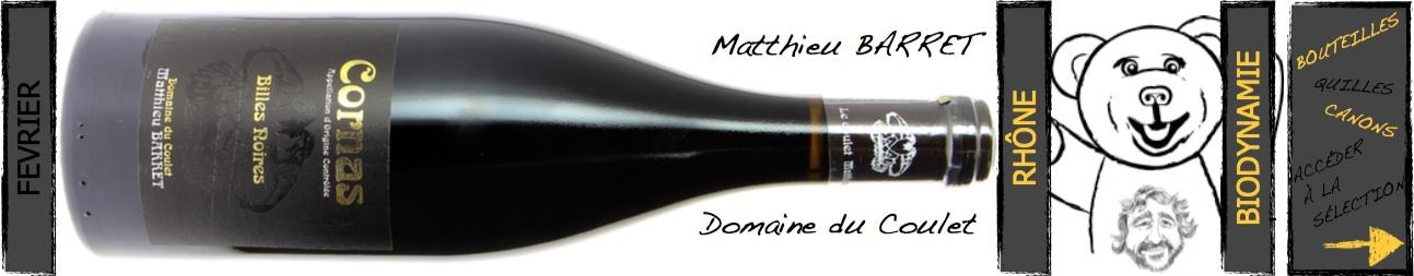 matthieu Barret - Domaine du Coulet