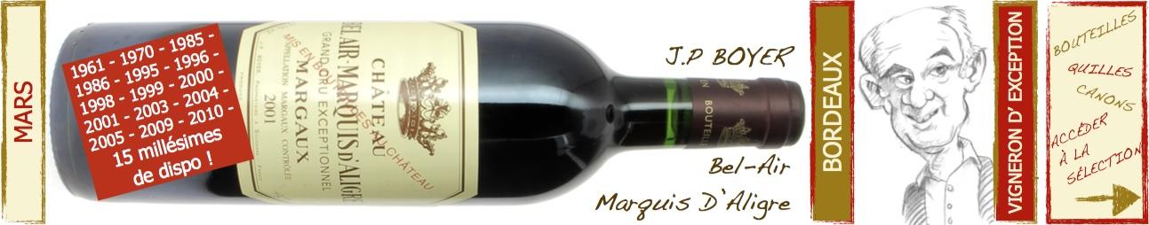 Jean-pierre Boyer - Bel Air Marquis d'Aligre