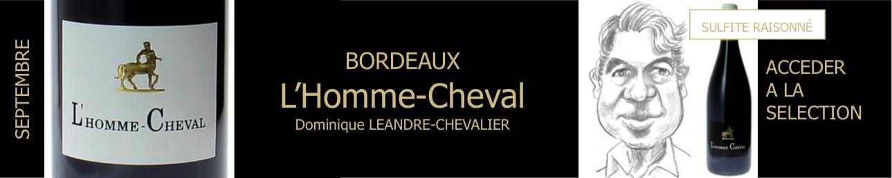 L'homme Cheval, Domaine Léandre-Chevalier