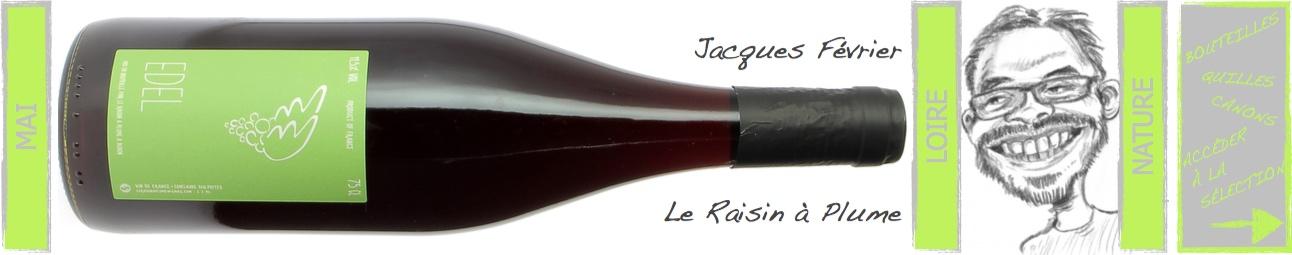 Jacques Février - le raisin à plume