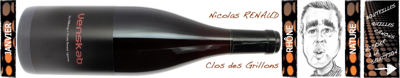 clos des Grillons Nicolas Renaud