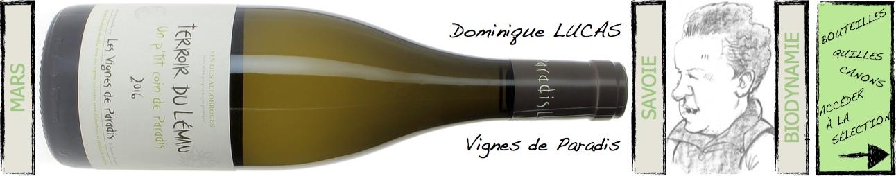 dominique Lucas - Vigne de paradis