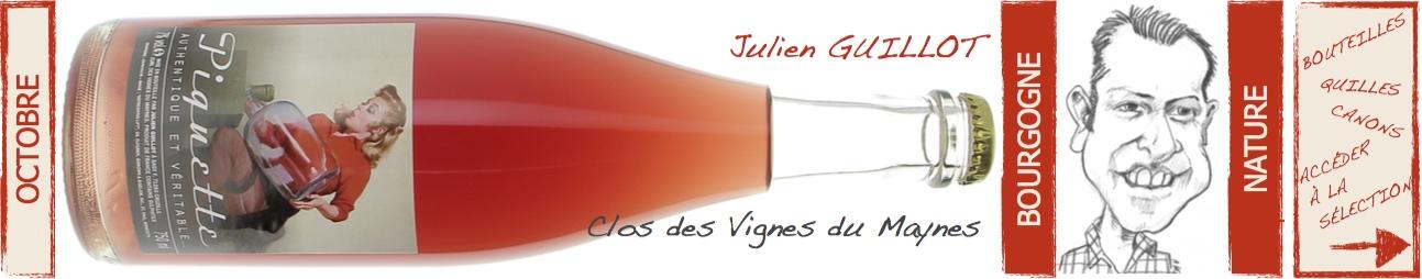 clos des Vignes du Maynes Julien Guillot