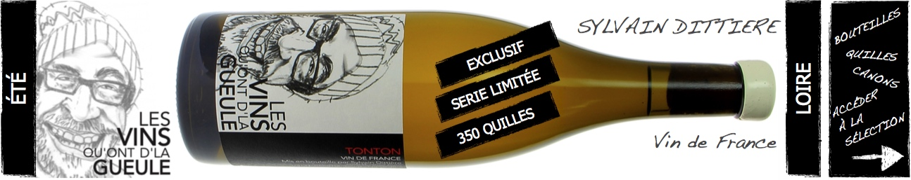 les vins qu'ont d'la gueule - Sylvain dittière