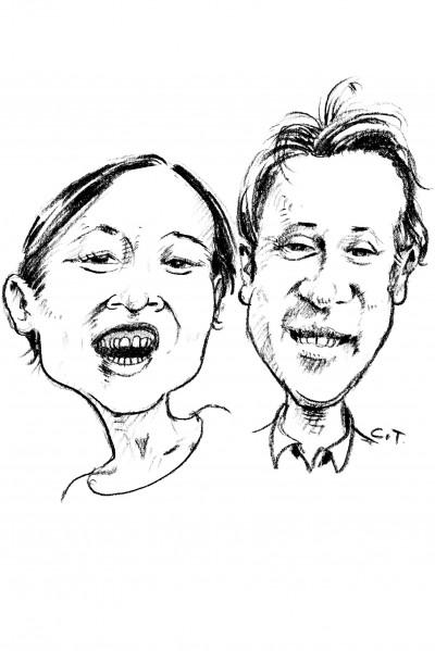Tomoko et Guillaume